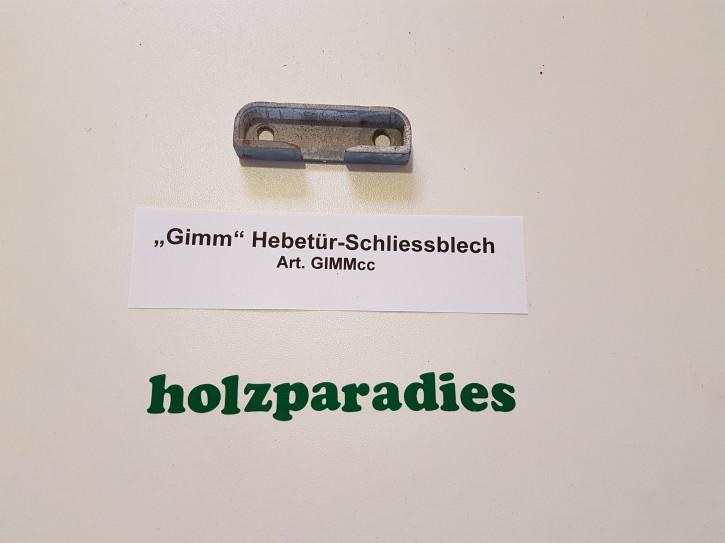 """""""Gimm"""" Hebetür-Schliessblech"""