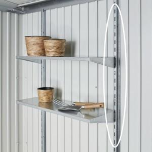 Regalsteher für Gerätehaus AvantGarde, Panorama und HighLine
