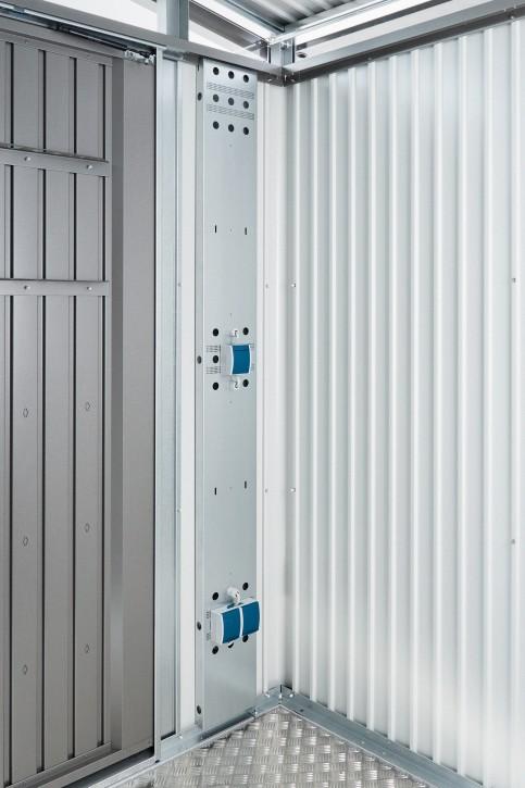 Elektro-Montagepanel für Europa und Geräteschrank