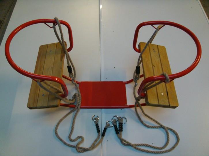 Gondelschaukel Doppelschaukel Schiffschaukel