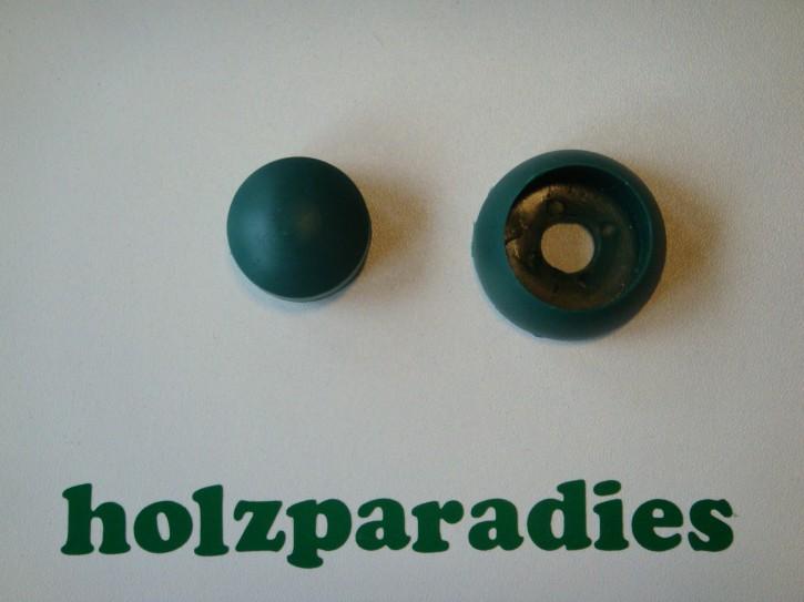 Abdeckkappe 10 Stück Schraubenabdeckungen  bolt caps grün
