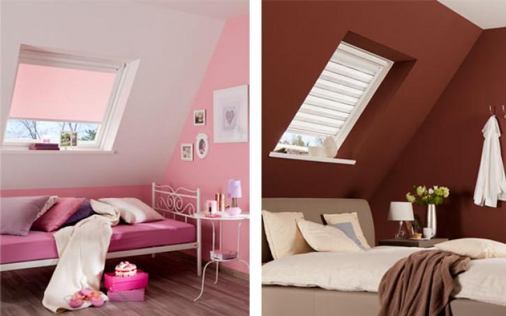 Dachfensterrollo von Teba für Velux GGU M04
