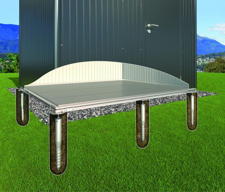 Erdschrauben-Fundament für Highline u. Panorama®