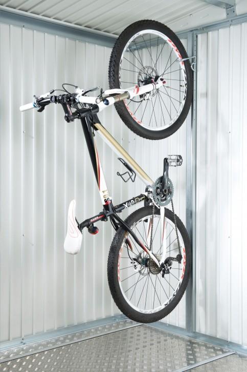 Fahrradhalter bikeMax für Gerätehaus Europa und Geräteschrank