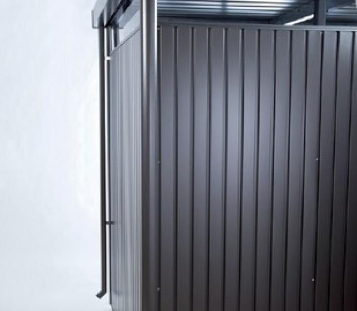 Regenfallrohr Set für Gerätehaus HighLine