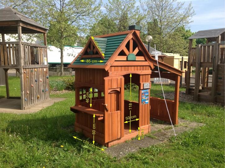 Kinderspielhaus Fiesta Playhouse inkl. picnic-Tisch/Stühlen