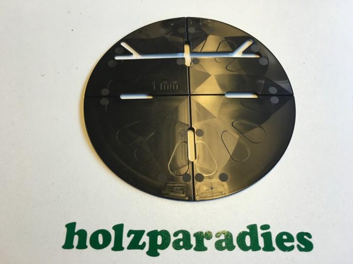 Ausgleichsplatte hart 1 mm schwarz