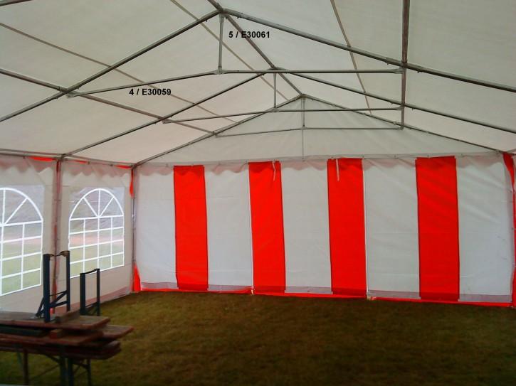 Ersatzteil für Partyzelt: Dach-Querstrebe/Rohr 1510 mm f. 6m Zelt