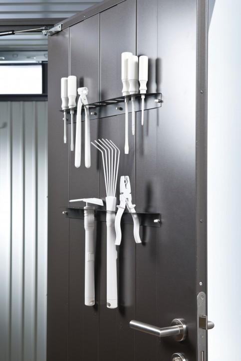 Werkzeughalter für Tür Gerätehaus HighLine