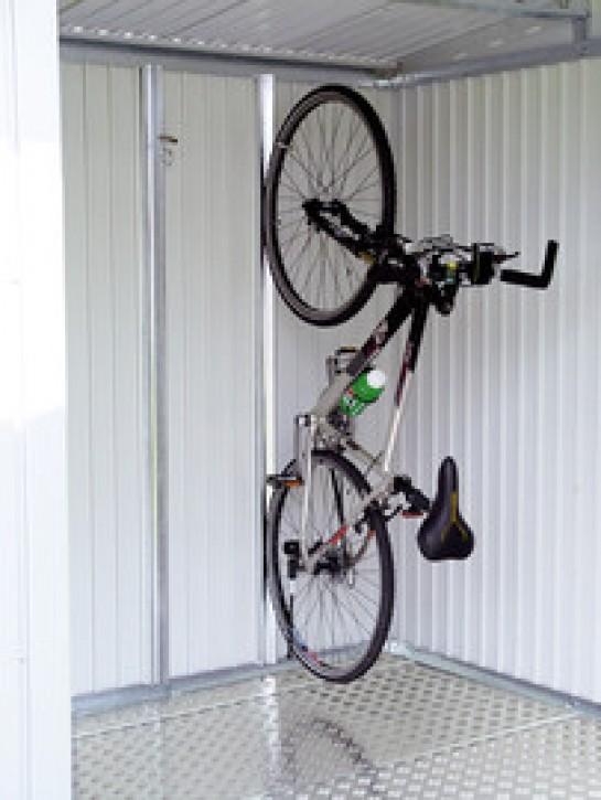 """Fahrradaufhängung """"bikeMax"""" für Gerätehaus HighLine, Panorama und AvantGarde"""