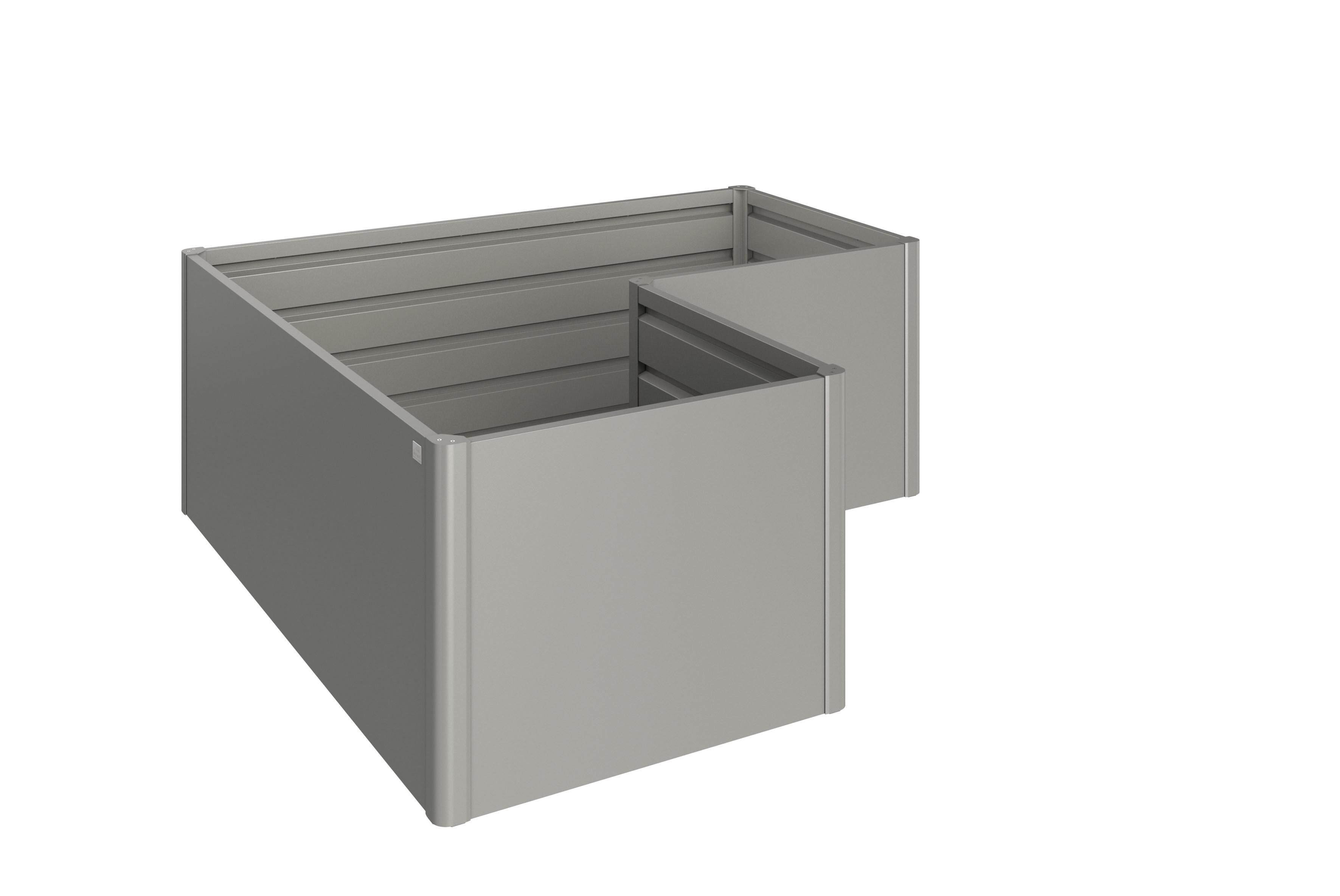 Hochbeet Quarzgrau Metallic L 68025