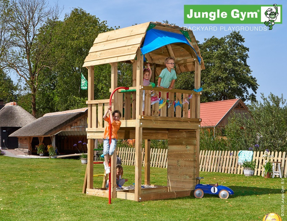 spielturm jungle barn von jungle gym 20xxx. Black Bedroom Furniture Sets. Home Design Ideas