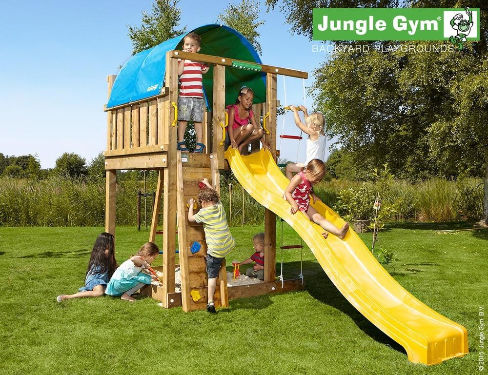 Klettergerüst Jungle Gym : Spielturm jungle villa von gym 2002x