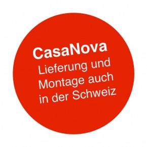 Nebengebäude CasaNova® Dunkelgrau-metallic / 3 x 6 m / Links