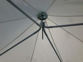 Pagodenzelt 500 gr. PVC 3,6 x 3,6 m