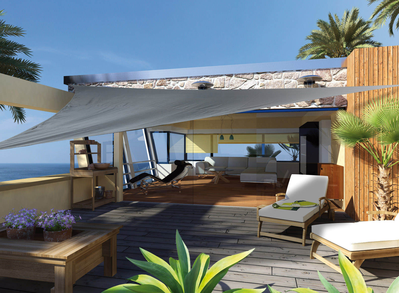 sonnensegel uv schutz von traumgarten br gmann ebay. Black Bedroom Furniture Sets. Home Design Ideas
